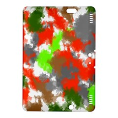 Abstract Watercolor Background Wallpaper Of Splashes  Red Hues Kindle Fire HDX 8.9  Hardshell Case