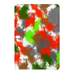 Abstract Watercolor Background Wallpaper Of Splashes  Red Hues Samsung Galaxy Tab Pro 10.1 Hardshell Case