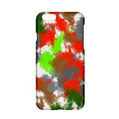 Abstract Watercolor Background Wallpaper Of Splashes  Red Hues Apple iPhone 6/6S Hardshell Case