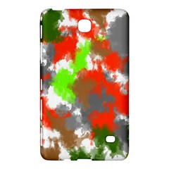 Abstract Watercolor Background Wallpaper Of Splashes  Red Hues Samsung Galaxy Tab 4 (7 ) Hardshell Case