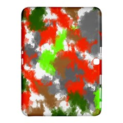 Abstract Watercolor Background Wallpaper Of Splashes  Red Hues Samsung Galaxy Tab 4 (10 1 ) Hardshell Case