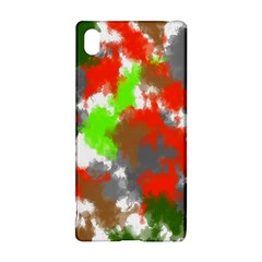 Abstract Watercolor Background Wallpaper Of Splashes  Red Hues Sony Xperia Z3+