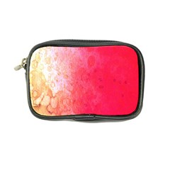 Abstract Red And Gold Ink Blot Gradient Coin Purse