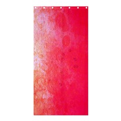 Abstract Red And Gold Ink Blot Gradient Shower Curtain 36  x 72  (Stall)