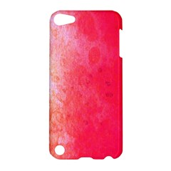 Abstract Red And Gold Ink Blot Gradient Apple iPod Touch 5 Hardshell Case