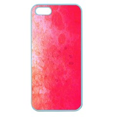 Abstract Red And Gold Ink Blot Gradient Apple Seamless Iphone 5 Case (color)