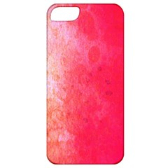 Abstract Red And Gold Ink Blot Gradient Apple iPhone 5 Classic Hardshell Case