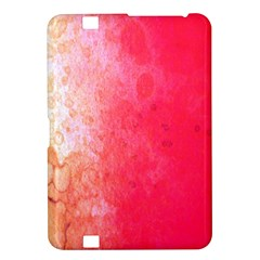 Abstract Red And Gold Ink Blot Gradient Kindle Fire HD 8.9