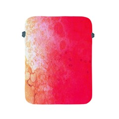 Abstract Red And Gold Ink Blot Gradient Apple Ipad 2/3/4 Protective Soft Cases