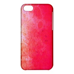 Abstract Red And Gold Ink Blot Gradient Apple iPhone 5C Hardshell Case