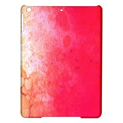 Abstract Red And Gold Ink Blot Gradient Ipad Air Hardshell Cases