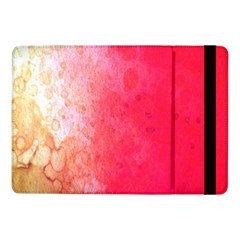 Abstract Red And Gold Ink Blot Gradient Samsung Galaxy Tab Pro 10 1  Flip Case