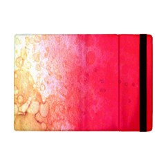 Abstract Red And Gold Ink Blot Gradient iPad Mini 2 Flip Cases