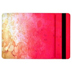 Abstract Red And Gold Ink Blot Gradient iPad Air 2 Flip