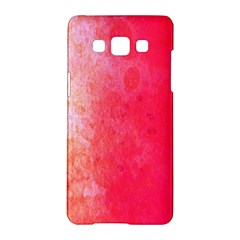 Abstract Red And Gold Ink Blot Gradient Samsung Galaxy A5 Hardshell Case