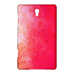 Abstract Red And Gold Ink Blot Gradient Samsung Galaxy Tab S (8.4 ) Hardshell Case