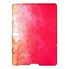 Abstract Red And Gold Ink Blot Gradient Samsung Galaxy Tab S (10.5 ) Hardshell Case