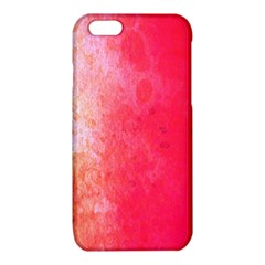 Abstract Red And Gold Ink Blot Gradient iPhone 6/6S TPU Case