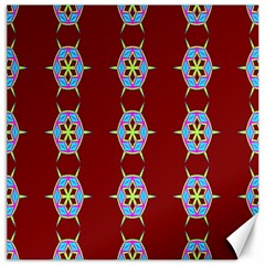 Geometric Seamless Pattern Digital Computer Graphic Wallpaper Canvas 16  x 16