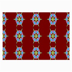 Geometric Seamless Pattern Digital Computer Graphic Wallpaper Large Glasses Cloth (2-Side)