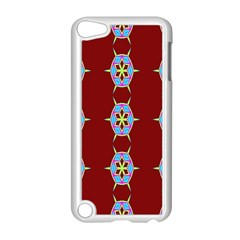 Geometric Seamless Pattern Digital Computer Graphic Wallpaper Apple Ipod Touch 5 Case (white)