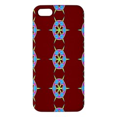 Geometric Seamless Pattern Digital Computer Graphic Wallpaper iPhone 5S/ SE Premium Hardshell Case