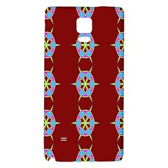 Geometric Seamless Pattern Digital Computer Graphic Wallpaper Galaxy Note 4 Back Case
