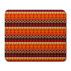 Abstract Lines Seamless Pattern Large Mousepads