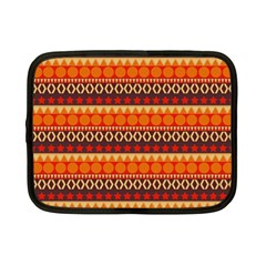 Abstract Lines Seamless Pattern Netbook Case (small)