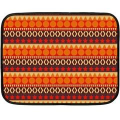 Abstract Lines Seamless Pattern Fleece Blanket (Mini)