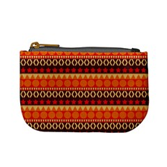 Abstract Lines Seamless Pattern Mini Coin Purses