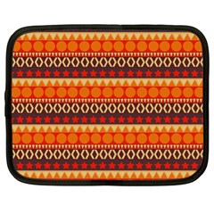 Abstract Lines Seamless Pattern Netbook Case (XL)