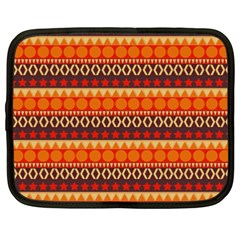 Abstract Lines Seamless Pattern Netbook Case (XXL)