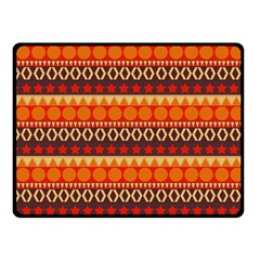 Abstract Lines Seamless Pattern Fleece Blanket (Small)