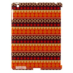 Abstract Lines Seamless Pattern Apple iPad 3/4 Hardshell Case (Compatible with Smart Cover)