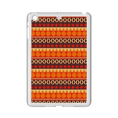 Abstract Lines Seamless Pattern iPad Mini 2 Enamel Coated Cases