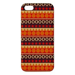 Abstract Lines Seamless Pattern Apple iPhone 5 Premium Hardshell Case