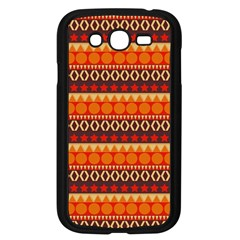 Abstract Lines Seamless Pattern Samsung Galaxy Grand Duos I9082 Case (black)