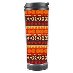 Abstract Lines Seamless Pattern Travel Tumbler