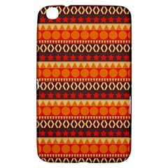 Abstract Lines Seamless Pattern Samsung Galaxy Tab 3 (8 ) T3100 Hardshell Case