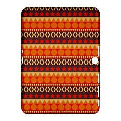 Abstract Lines Seamless Pattern Samsung Galaxy Tab 4 (10.1 ) Hardshell Case