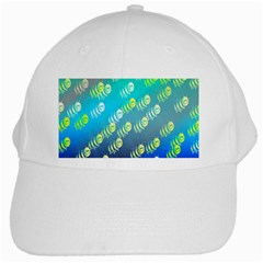 Swarm Of Bees Background Wallpaper Pattern White Cap