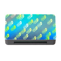 Swarm Of Bees Background Wallpaper Pattern Memory Card Reader with CF