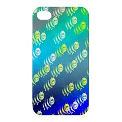 Swarm Of Bees Background Wallpaper Pattern Apple Iphone 4/4s Hardshell Case