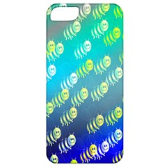 Swarm Of Bees Background Wallpaper Pattern Apple iPhone 5 Classic Hardshell Case