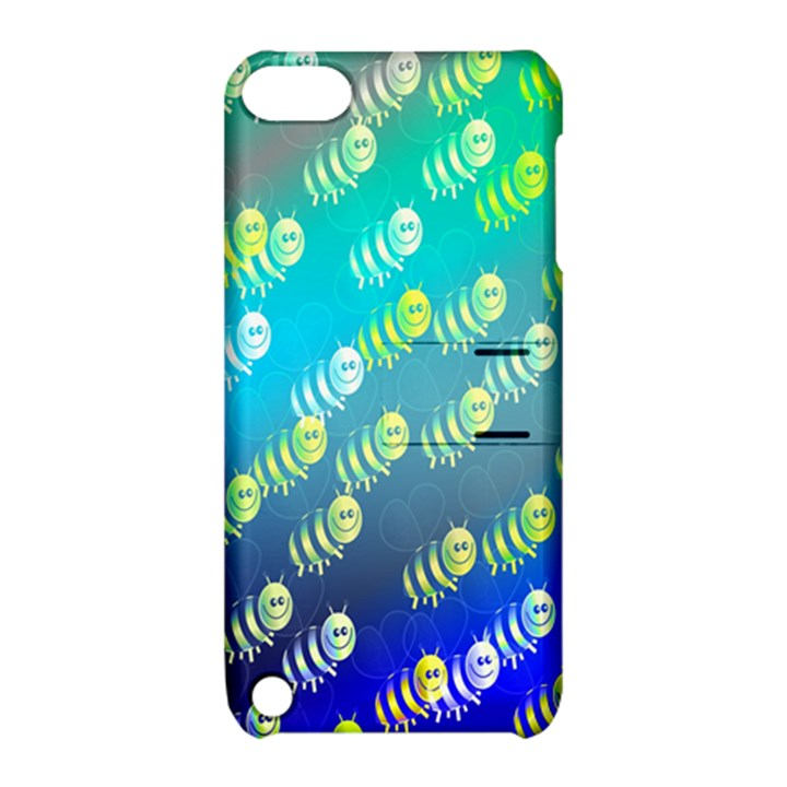 Swarm Of Bees Background Wallpaper Pattern Apple iPod Touch 5 Hardshell Case with Stand