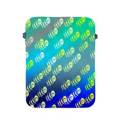 Swarm Of Bees Background Wallpaper Pattern Apple Ipad 2/3/4 Protective Soft Cases