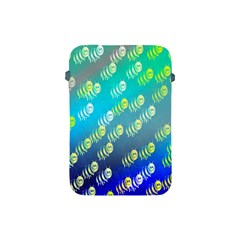 Swarm Of Bees Background Wallpaper Pattern Apple Ipad Mini Protective Soft Cases