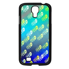 Swarm Of Bees Background Wallpaper Pattern Samsung Galaxy S4 I9500/ I9505 Case (black)