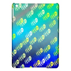 Swarm Of Bees Background Wallpaper Pattern iPad Air Hardshell Cases